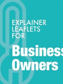 Business Owner Explainer Leaflets